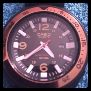 Solar powered Casio watch. Great condition